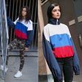 Gosha Rubchinskiy Jacket Sporting Long Sleeve Windbreaker Hiphop Skateboards Couples Outwear Russian Ukraine Flag Gosha Jacket