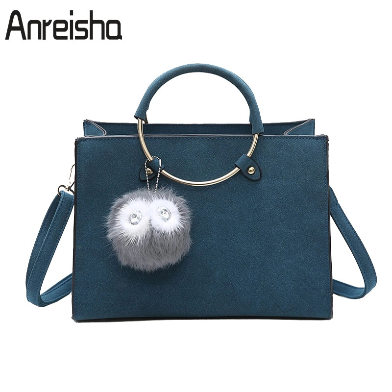 Anreisha Brand Designer Women Handbags High Quality PU Leather Shoulder Bag Fashion Women Lady Large Tote Bags Messenger Bags 21 kadell hollow designer handbags high quality women casual tote bag female large shoulder messenger bags pu leather business bag