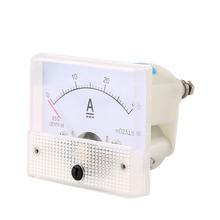 ACEHE 1pcs DC 30A Analog Ammeter Panel AMP Current Meter 0-30A DC Doesn't Need Shunt  Brand New