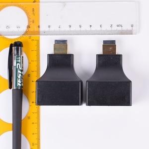 Image 3 - 2 adet HDMI genişletici 2 RJ45 bağlantı noktası, uzatma 30m CAT 5e CAT6 UTP LAN Ethernet kablosu HDTV HDPC