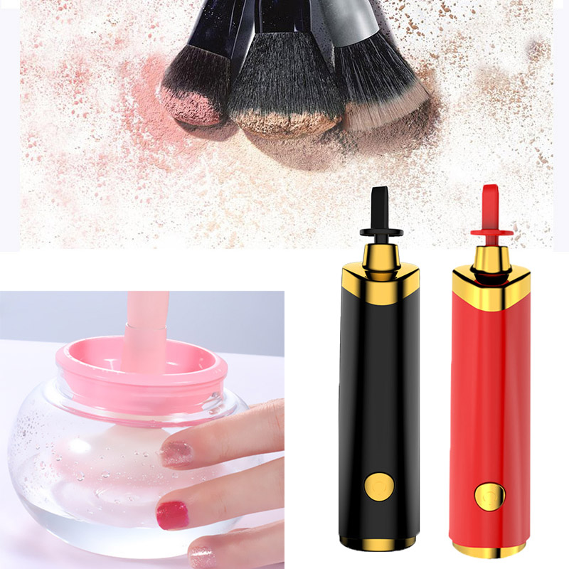 Electric Makeup Brush Cleaner Profession Makeup Brushes Cleaning Tool Multi-functional Washing Machine Beauty Accessories