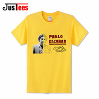 Hot Sales Summer NARCOS Men T Shirt Short Sleeve Cotton T Shirt Fashion PLATA O PLOMO