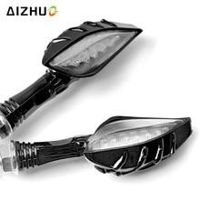 Motorcycle Turn Signals Light 12V LED Lights Blinker Lamp For benelli trk502 yamaha fz8 ybr 125 m109r honda goldwing gl1800