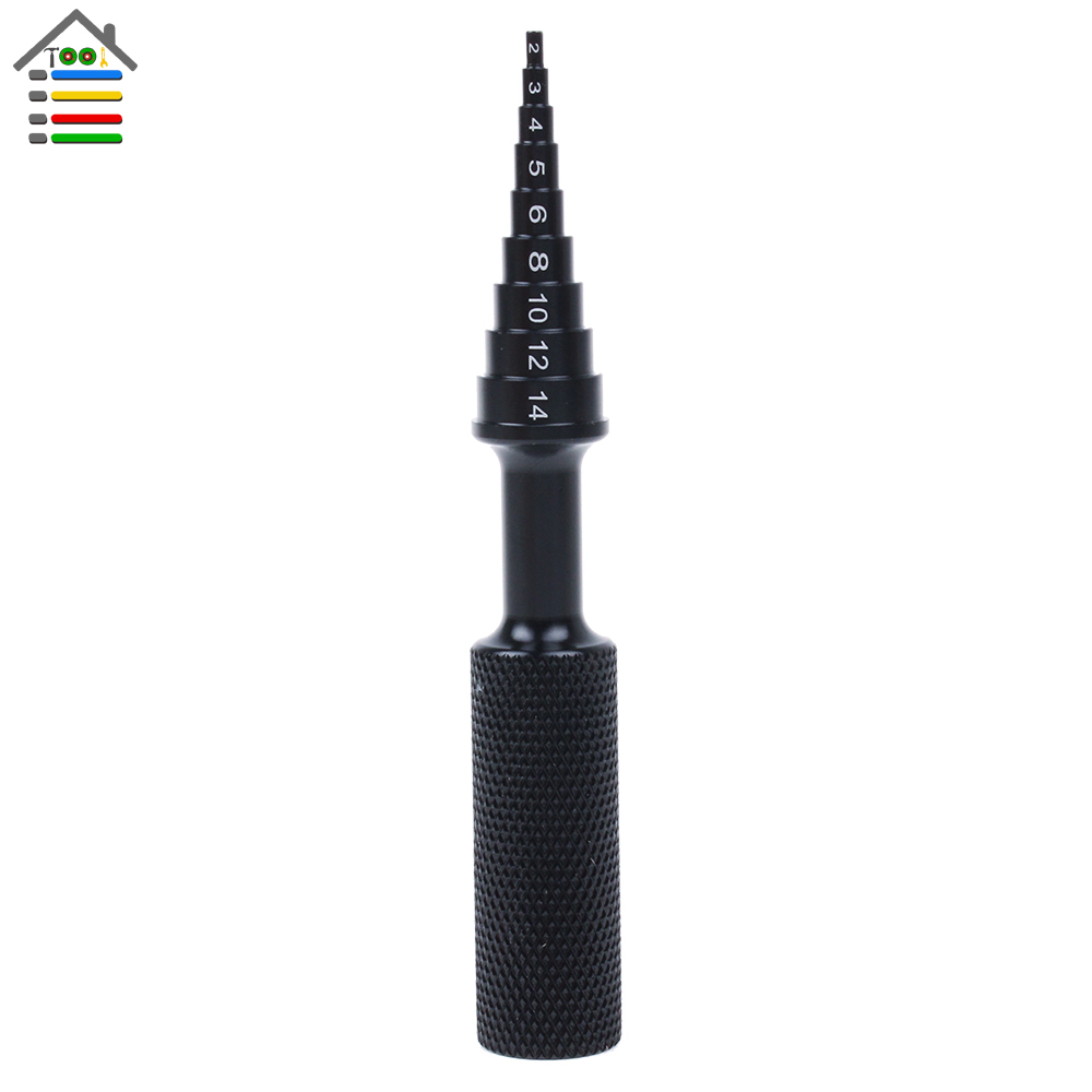 Hand & Power Tool Accessories Model Tools Reamer Gear Puller Rc Bearing Disassembly Tool Step Drill Bits 9 Steps 2 3 4 5 6 8 10 12 14 Mm Fits Ball Bearings Back To Search Resultstools
