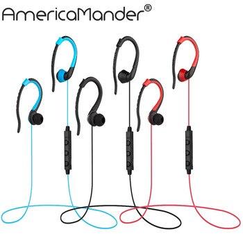 A.Mander 4.1 Wireless Headphone Bluetooth Earphone Bluetooth Headset Microphone Sport Earphone for iPhone Android Phone BT019