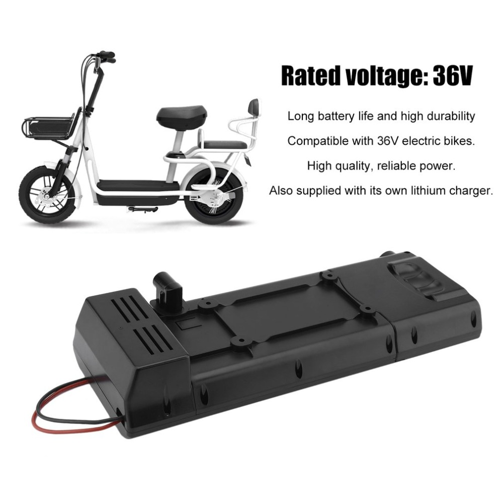 Charger Bottle 36V 10AH Lithium Battery Li-ion Compatible with Electric Bicycle E Bike Kit