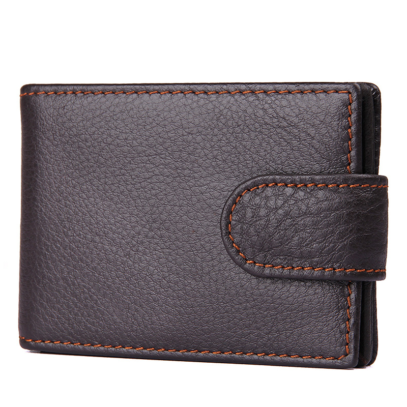 2017 Hot Sale Genuine Leather Card Holder font b Wallets b font High Quality Male Credit