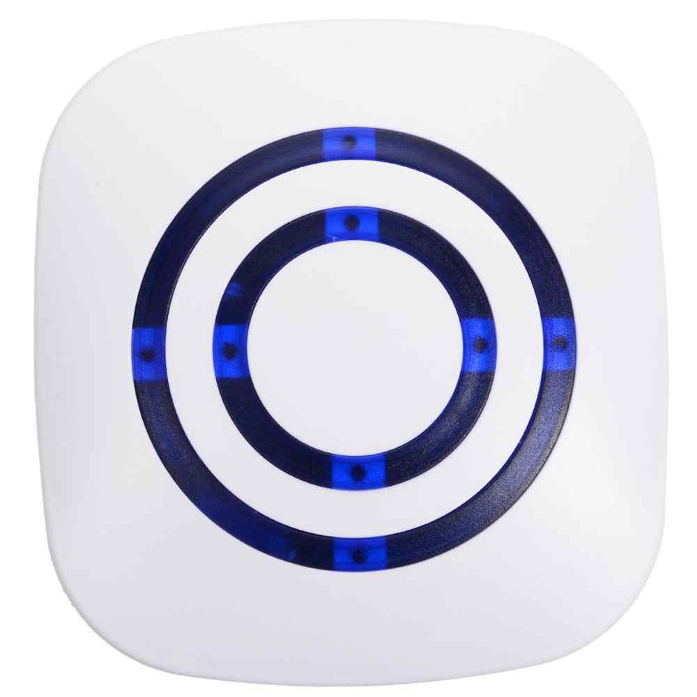 1 Pcs Pengunjung Bel Pintu Nirkabel Pir Toko Toko Selamat Datang Sensor Gerak Masuk Pengunjung Bel Alarm Bel Pintu dengan Uni Eropa Plug