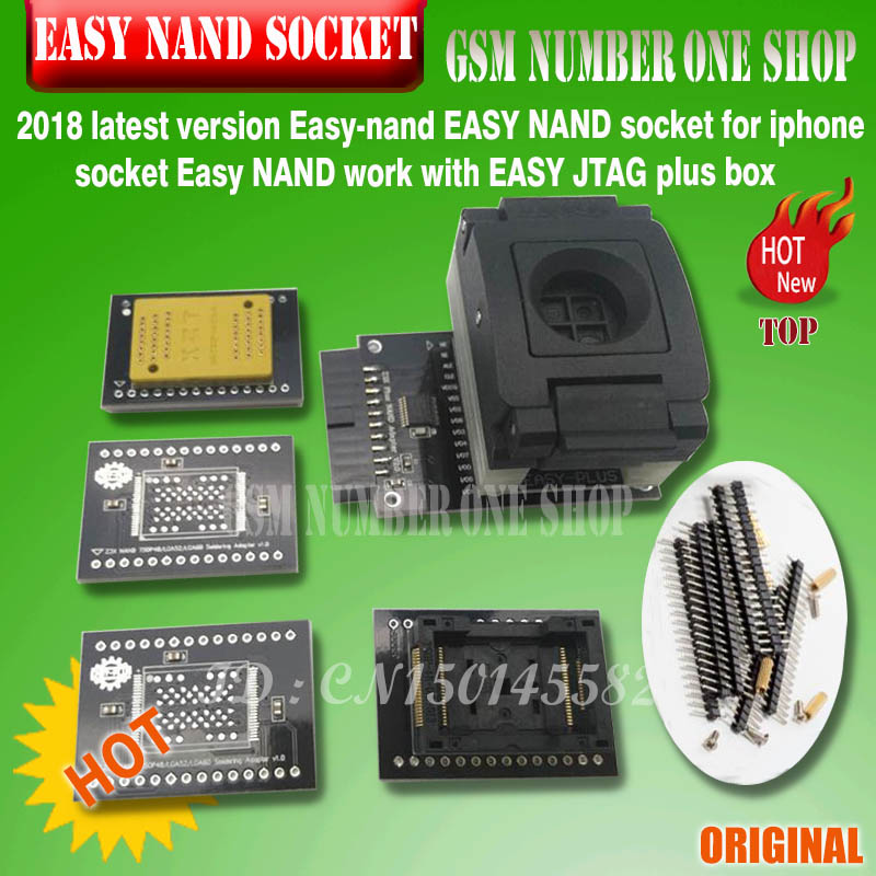 2019 Latest Version Easy-nand EASY NAND Socket For Iphone Socket Easy NAND Work With EASY JTAG Plus Box