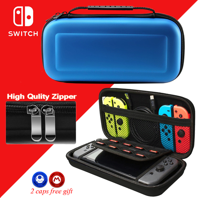 Nintend Switch NS Accessories Portable Travel Carrying Bag Nintendos Switch EVA Protective Case Bags for Nintendo Switch Console