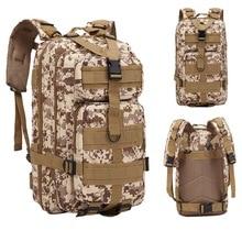 HEFLASHOR Backpack Military Backpack Waterproof Rucksack Outdoor Camping Hiking Fishing Bag