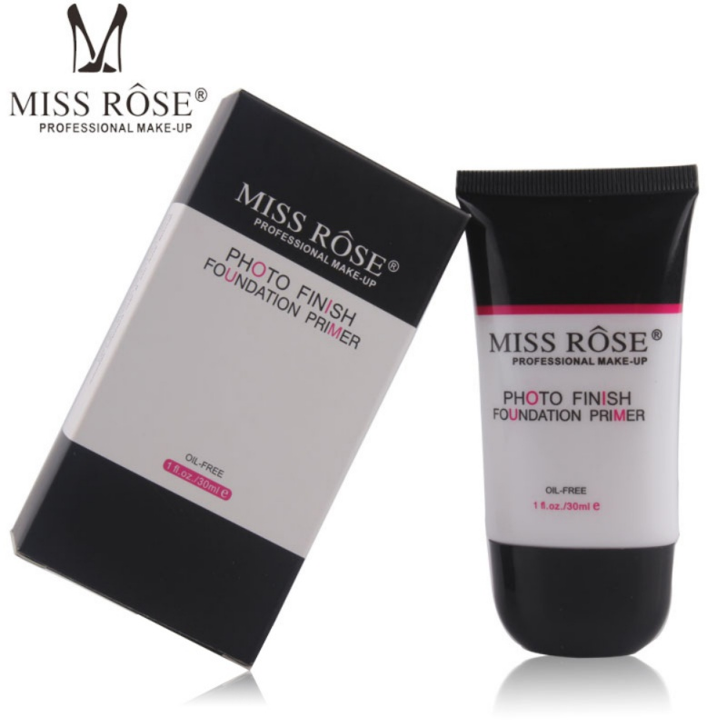 MISS ROSE Brand Smoothing Transparent Face Primer Base Moisturizer Pore Foundation Primer Gel Band Facial Beauty Makeup Primer