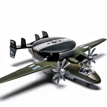 Diecasts Toy Vehicles pull back and music light Boy alloy aircraft model Simulation aircraft Bomber Fold