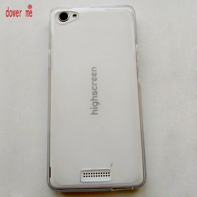 Защитный Мягкий чехол dower me из ТПУ для смартфона Highscreen Power Ice Evo