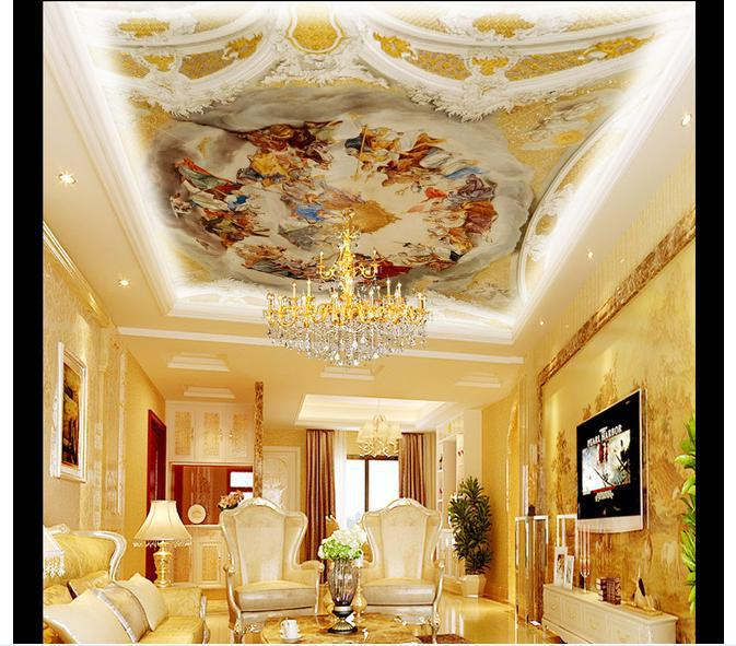 3d wallpaper custom mural non-woven 3d room wallpaper European frescoes on the ceiling murals photo wallpaper for walls 3d 3d room wallpaper custom mural non woven 3 d european angel figure looking down ceiling mural photo wallpaper for walls 3d