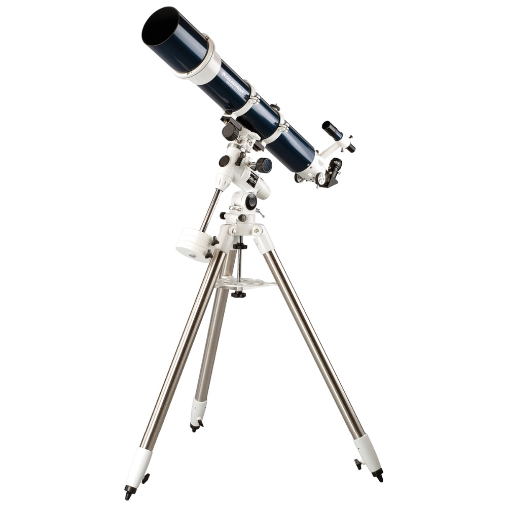 CELESTRON-OMNI-XLT-120-Refractor-TELESCOPE-StarBright-XLT-coatings-CG-4-Equatorial-Heavy-duty-Stainless-Steel