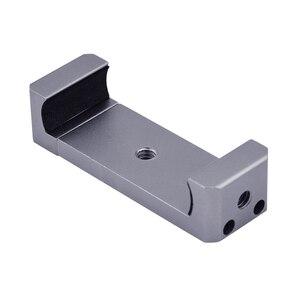 Image 5 - Faltbare Telefon Halter Adapter Clip Selfie Halterung Metall Stativ für DJI Osmo Tasche/Tasche 2 Handheld Gimbal Kamera Zubehör