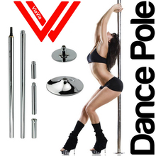 2745mm Professional Dance Pole for Class Night Clubs Home Fitness EASY Installation with Free DVD!