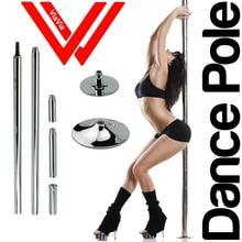 Женская обувь для пул-дэнса 360 спин профессиональная танцевальная жердь съемный тренировочный полюс X полюс Комплект Легкая установка DHL Бесплатная доставка