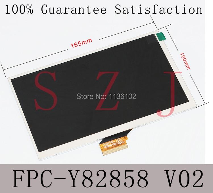 7 inch tablet PC screen P1000 LCD Display FPC-B07013001VO FPC-Y82858 V02 V01 FPCB07013001V0 Free shipping