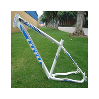 LUTU ATX600 alloy aluminum 7005 mountain bike MTB frame 26X16/17 for disc brake mount