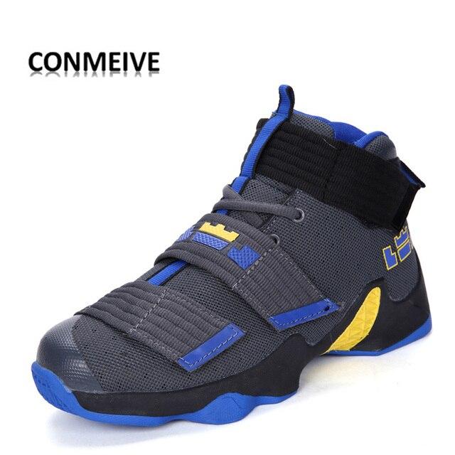 site réputé 06e00 bf34f € 31.49 |2018 Couple de Basket Ball Chaussures pour Amant de Cheville  Protection Jordan Bottes Chaussures Semelle En Caoutchouc de Basket Ball ...