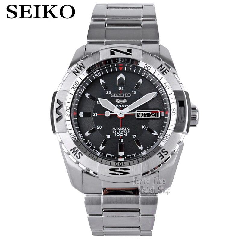 seiko watch men 5 automatic watch top brand luxury Waterproof Sport men watch set mechanical military