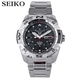 Image 1 - seiko watch men 5 orologio automatico top brand luxury 100Waterproof Sport men watch orologi meccanici orologio da sub militare 24 Numero di gioielli часы мужские relojes reloj hombre relógio relogios relogio masculino