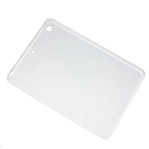 ترف واضح لينة tpu سيليكون حالة الغطاء الجلد ل أبل ipad mini 1 2 3 الشبكية