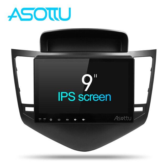 Asottu android 8,1 coche dvd reproductor gps para Chevrolet Cruze 2009-2013 coche reproductor de DVD Radio reproductor de vídeo navegación GPS estéreo del coche
