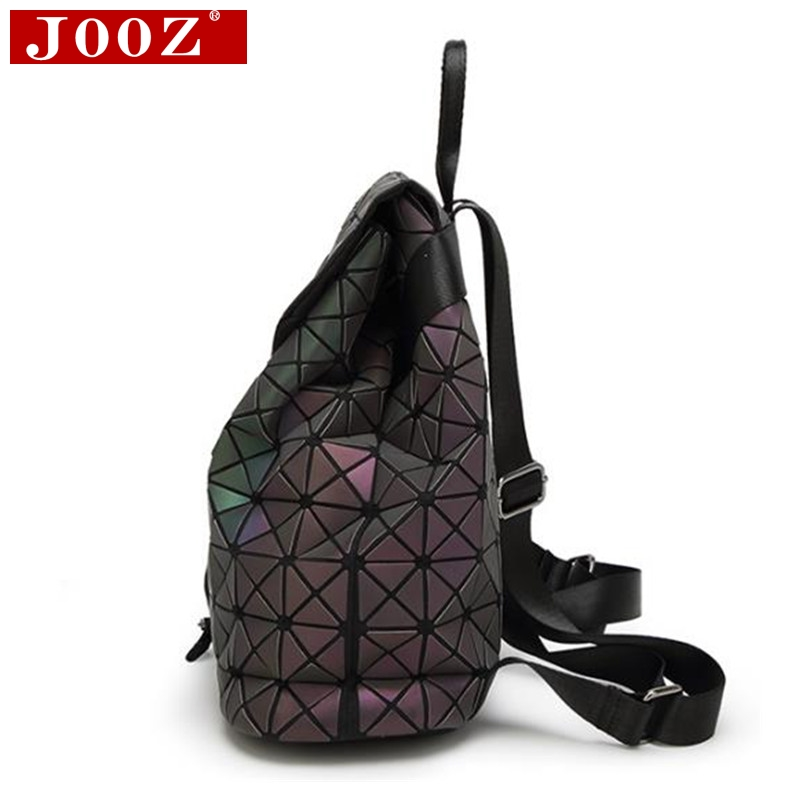 Jooz Luxury Luminous Women Backpacks Big Capacity Students Daypacks School Bags For Girl Fashion Bling Hologram Female Bagpack #3