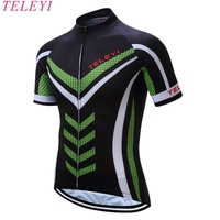 teleyi 2017 Breathable Cycling Jersey Summer Mtb Bicycle Short Clothing Ropa Maillot Ciclismo Sportwear Bike Clothes #DX-05