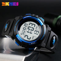 SKMEI Brand Children Watch Clock Outdoor Sports Kids Watches Boys LED Digital Wristwatches 50M Waterproof Relogio