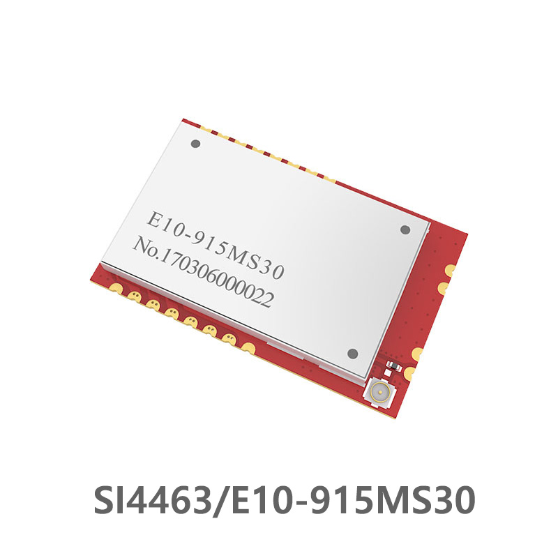 E10-915MS30  SI4463 915MHz Wireless Rf Module Long Range 6000m Transceiver  1W 915 MHz Transceiver Rf Transmitter And Receiver