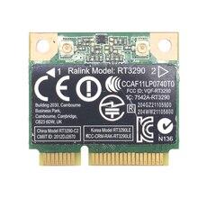 RT3290 150Mbps ağ kablosuz kart Bluetooth 3.0 yüksek hızlı düşük gecikme taşınabilir dizüstü adaptörü Mini PCIE arayüzü WIFI küçük