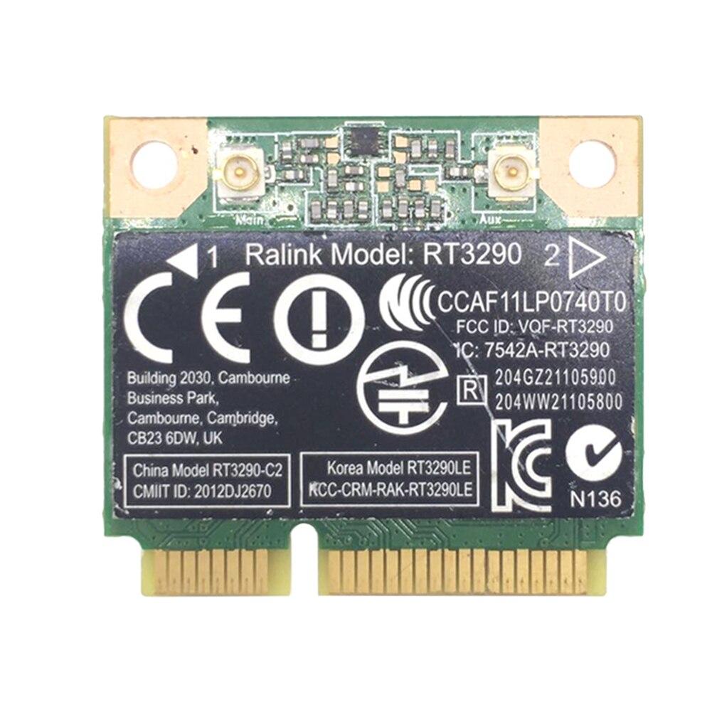 RT3290 150Mbps réseau carte sans fil Bluetooth 3.0 haute vitesse faible latence ordinateur portable adaptateur Mini PCIE Interface WIFI petit