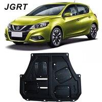 Auto Styling Voor Nissan Tiida Plastic Staal Motor Guard Voor Tiida 2011-2017 Motor Skid Plate Spatbord 1 Pc