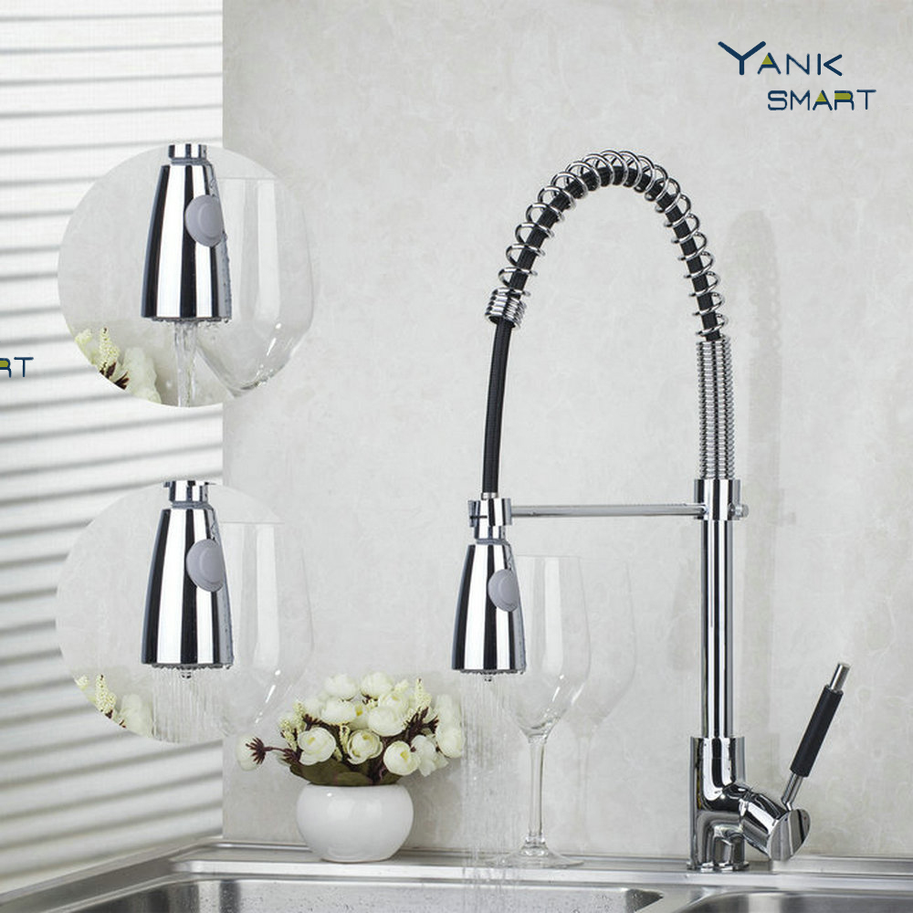 YANKSMART Chrome font b Single b font font b Hole b font font b Kitchen b