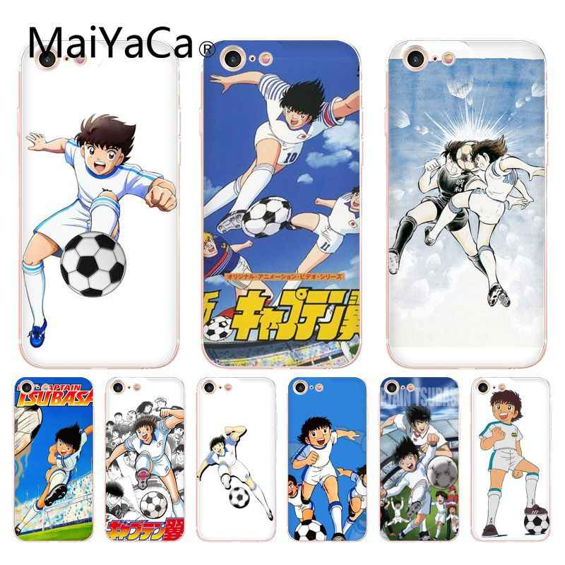 MaiYaCa For iphone 7 Case Captain Tsubasa Ozora Genzo Football Coque Shell Phone Case for iPhone 8 7 6 6S Plus X XS XR XSMAX
