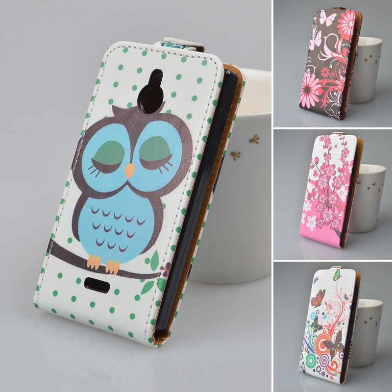 newest bbd84 f3541 US $4.99  PU Leather Case Flip Cover Mobile Phone Case Bag For Nokia X2  DUAL SIM Phone Bags with Printing 5 Colors-in Wallet Cases from Cellphones  & ...