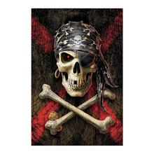 Skull picture Diamond Painting halloween Bone Round Full Drill 5D Nouveaute DIY Mosaic Embroidery Cross Stitch home decor gifts
