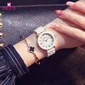 Caremic KEZZI Mujeres Simples Relojes de Pulsera Movimiento de Cuarzo Resistente Al Agua Relojes Ocasionales de Las Señoras Vestido de Regalo Reloj Montre Femme