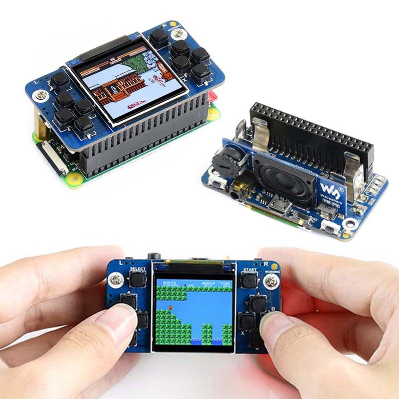 Raspberry Pi Zero Game Raspberry Pi 1.54 Inch LCD With Charge Earphone Buzzer Function Also For Raspberry Pi 3B+ Zero W