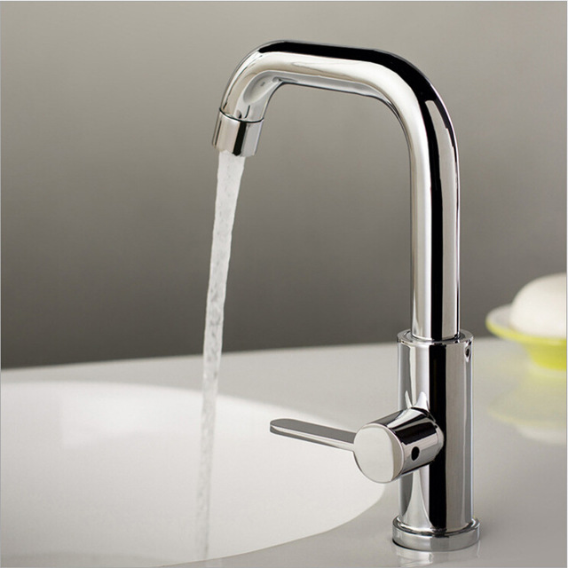 Free Shipping Deck Mounted Chrome Zinc Alloy Kitchen Faucet Sprayer
