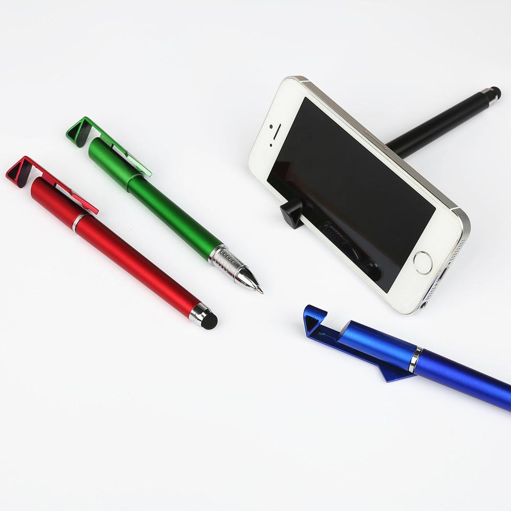 Multi-function-Mobile-Phone-Stylus-Ball-pen-Mobile-Phone-Stand-Holder-Gift-Advert-ad-Logo-Custom (5)