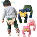 1 pieza de Los Niños Niño Niño Niña Bebé Leggings Pantalones harem PP Pantalones de busha del Algodón oso animal de la historieta de las bragas para niños Infantil