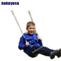 Kids Outdoor Indoor Children Play Garden Slide Swing Hanging Plastic Flexible Adjustable Swing Seat For Adult