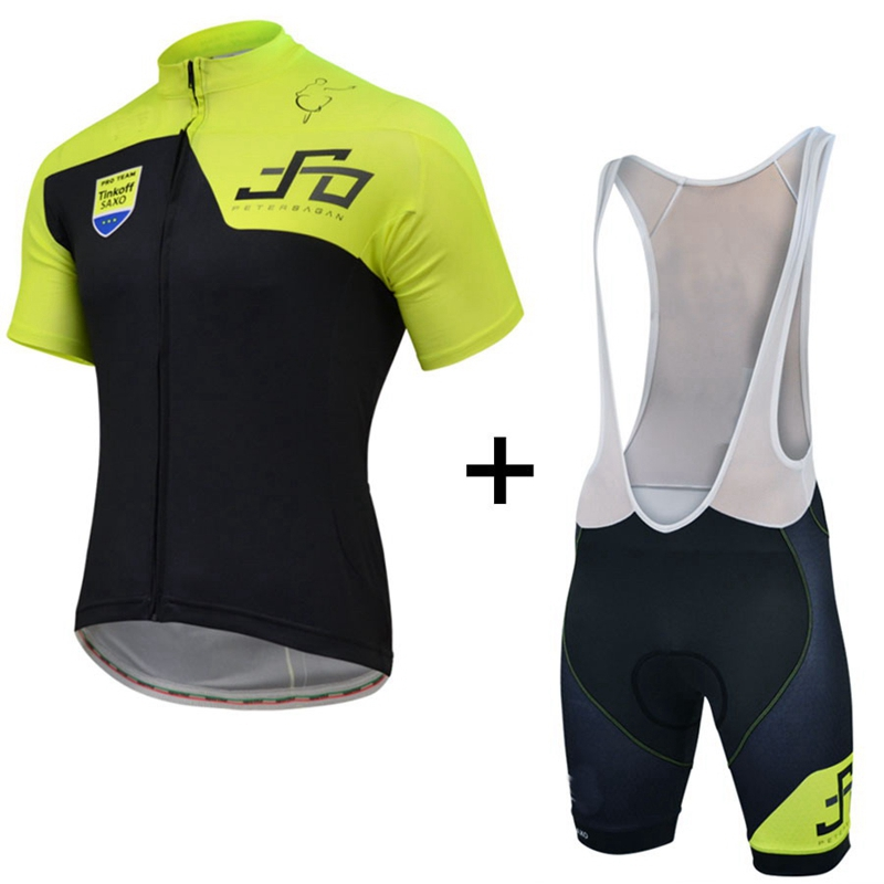 PETER SAGAN ONE GOLD  Men/'s Cycling Jersey with Shorts Bib Suit Road Cycling