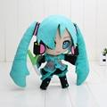 anime Hatsune Miku VOCALOID series 24CM snow Hatsune Miku Plush Toy Stuffed Soft Dolls children gift