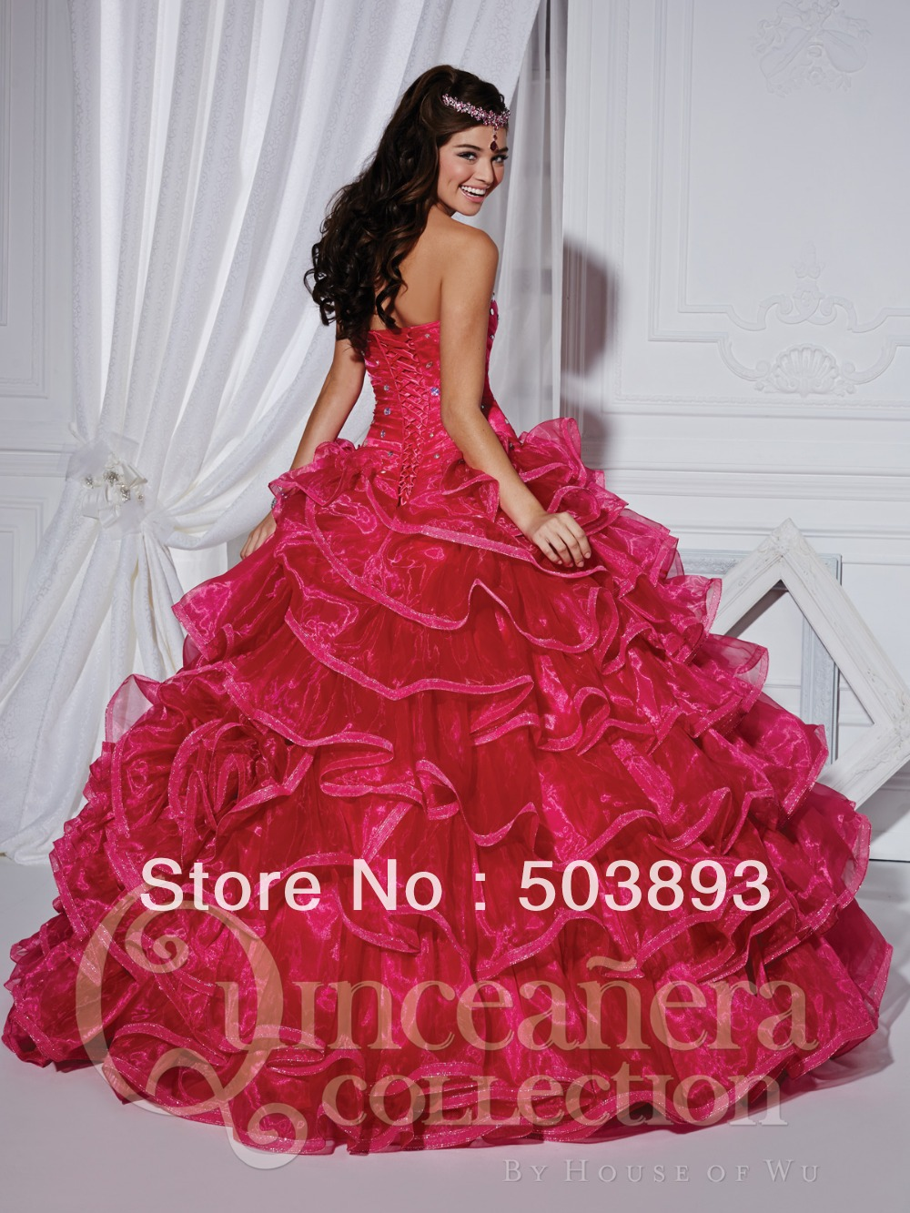 Ball gown prom dresses 2014 - Free Shipping Masquerade Ball Gowns Ruffles Crystal Light Pink Quinceanera Dresses 2014 Sweet 16 Gowns Quinceanera Gowns In Prom Dresses From Weddings